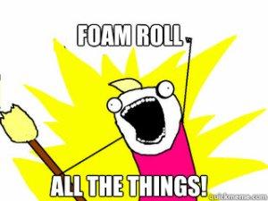 ex foam roll all things