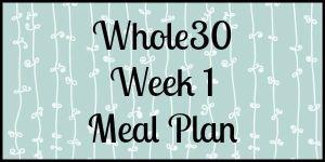 ex whole 30 week1