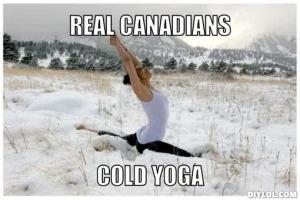 ex cold yoga